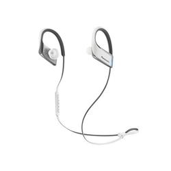 Panasonic Wings RP-BTS50E - Écouteurs avec micro - intra-auriculaire - montage sur l'oreille - sans fil - Bluetooth - blanc