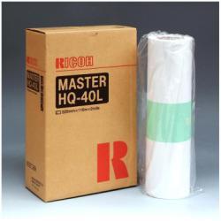 Matrice Ricoh - Type hq40l - rotolo master stampante (pacchetto di 2) 893196