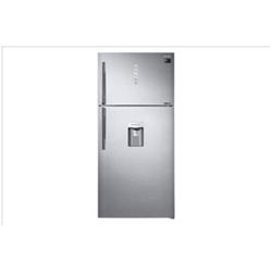 Réfrigérateur Samsung RT62K7515SL - Réfrigérateur/congélateur - pose libre - largeur : 83.6 cm - profondeur : 78.8 cm - hauteur : 186.2 cm - 555 litres - congélateur haut avec distributeur d'eau - Classe A++ - Acier propre EZ