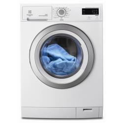 Lave-linge Electrolux SUNNY RWF1286ODW - Machine à laver - pose libre - largeur : 60 cm - profondeur : 64 cm - hauteur : 85 cm - chargement frontal - 8 kg - 1200 tours/min