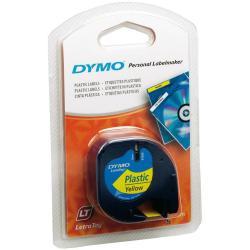 Nastro Dymo - Letratag 12mmx4m Giallo