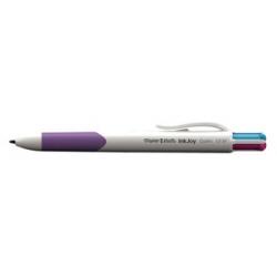 Penna a scatto Papermate - Inkjoy Quatro 4 Colori Fun Cf 12pz