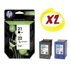 Cartuccia HP - 21 + 22