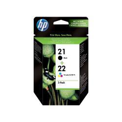 Cartuccia HP - 21/22 combo pack - confezione da 2 sd367ae#301
