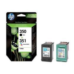 Cartuccia HP - 350/351 - nero, colore (ciano, magenta, giallo) - originale sd412ee#301
