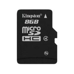 Micro SD Kingston - Scheda di memoria flash - 8 gb - microsdhc sdc4/8gb