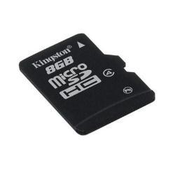 Micro SD Kingston - Scheda di memoria flash - 8 gb - microsdhc sdc4/8gbsp