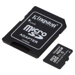 Micro SD Kingston - Scheda di memoria flash - 16 gb - uhs-i microsdhc sdcit/16gb