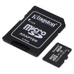 Micro SD Kingston - Scheda di memoria flash - 8 gb - uhs-i microsdhc sdcit/8gb