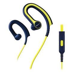 Pioneer SE-SE-E711T - Écouteurs avec micro - intra-auriculaire - montage sur l'oreille - jack 3,5mm - jaune