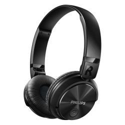 Philips SHB3060BK - Casque avec micro - sur-oreille - sans fil - Bluetooth