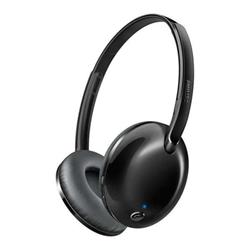 Philips SHB4405BK - Casque avec micro - sur-oreille - sans fil - Bluetooth - jack 3,5mm
