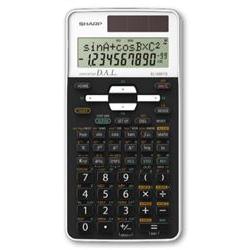 Image of Calcolatrice El-506ts bianca blister sh-el506tsbwh