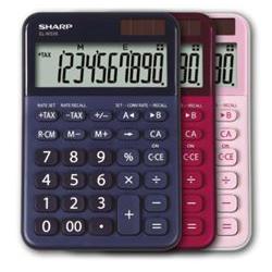 Image of Calcolatrice El-m335 blu sh-elm335bbl