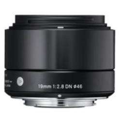 Obiettivo Sigma - 19mm 2.8 a