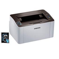 Imprimante laser Samsung Xpress M2026W - Imprimante - monochrome - laser - A4/Legal - 1200 x 1200 ppp - jusqu'à 20 ppm - capacité : 150 feuilles - USB 2.0, Wi-Fi(n), NFC