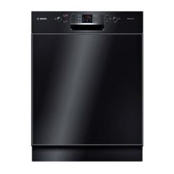 Lave-vaisselle Bosch SilencePlus ActiveWater SMD53M86EU - Lave-vaisselle - intégrable - Niche - largeur : 60 cm - profondeur : 57.3 cm - hauteur : 81.5 cm - noir