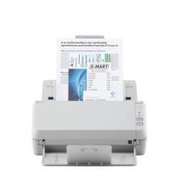 Scanner Fujitsu SP-1125 - Scanner de documents - Recto-verso - A4 - 600 ppp x 600 ppp - jusqu'à 25 ppm (mono) / jusqu'à 25 ppm (couleur) - Chargeur automatique de documents (50 feuilles) - USB 2.0