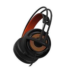 Cuffie con microfono STEELSERIES - Siberia 350 Arancione Nero