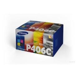 HP - Clt-p406c - confezione da 4 - nero, giallo, ciano, magenta - originale su375a