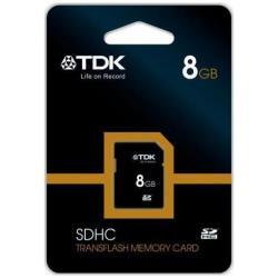Secure Digital TDK - Scheda di memoria flash - 8 gb - sdhc t78715