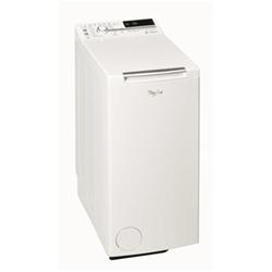 Lave-linge Whirlpool TDLR 60220 - Machine à laver - pose libre - largeur : 40 cm - profondeur : 60 cm - hauteur : 90 cm - chargement par le dessus - 42 litres - 6 kg - 1200 tours/min - blanc