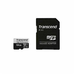Micro SD Transcend - High performance 330s - scheda di memoria flash - 64 gb ts64gusd330s