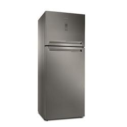Réfrigérateur Whirlpool T TNF 8211 OX - Réfrigérateur/congélateur - pose libre - largeur : 70 cm - profondeur : 72.5 cm - hauteur : 180 cm - 423 litres - congélateur haut - classe A+ - inox
