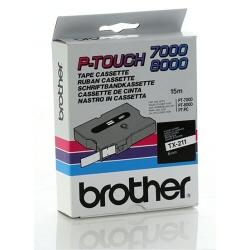 Nastro Brother - Nastro laminato - 1 cassetta(e) - rotolo (0,6 cm x 15 m) tx211