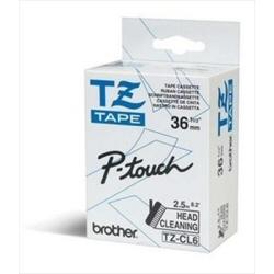 Nastro Brother - Tze-cl6 - nastro pulente - 1 cassetta(e) - rotolo (3,56 cm x 8 m) tzecl6