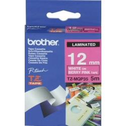 Nastro Brother - Tze-mqp35 - nastro laminato - 1 cassetta(e) - rotolo (1,2 cm x 5 m) tzemqp35