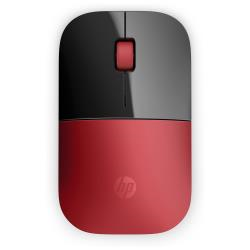 Mouse HP - Z3700 - mouse - 2.4 ghz - rosso v0l82aa#abb