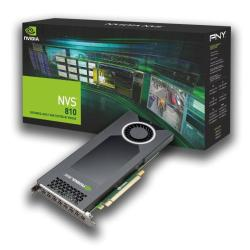 Scheda video PNY - Nvidia nvs 810 dp
