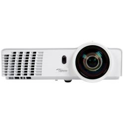 Vidéoprojecteur Optoma W305ST - Projecteur DLP - portable - 3D - 3200 ANSI lumens - WXGA (1280 x 800) - 16:10 - HD 720p