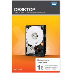 Hard disk interno WESTERN DIGITAL - MAINSTREAM DESKTOP 1TB