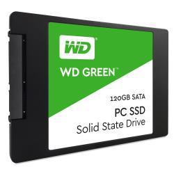 "Disque dur interne WD Green PC SSD WDS120G1G0A - Disque SSD - 120 Go - interne - 2.5"" - SATA 6Gb/s"