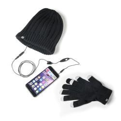 Kit auricolari+cappello+guanti Celly - Winterkit - universal
