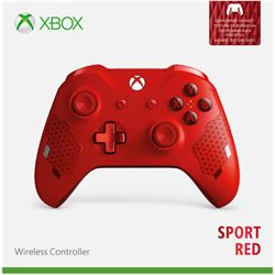 Image of Controller Xbox wireless controller - sport red special edition - game pad wl3-00126