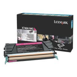 Toner Lexmark - Magenta - originale - cartuccia toner - lccp, lrp x746a1mg