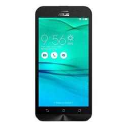 """Smartphone ASUS ZenFone Go (ZB500KL) - Smartphone - double SIM - 4G LTE - 16 Go - microSDXC slot - GSM - 5"""" - 1 280 x 720 pixels (294 ppi) - IPS - 13 MP (caméra avant de 5 mégapixels) - Android - blanc"""