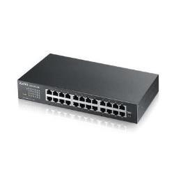 Switch Zyxel - Gs-1100-24e - switch - 24 porte - unmanaged gs1100-24e-eu0101f