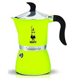 Macchina da caffè Bialetti - Fiammetta 1tz fluo lime