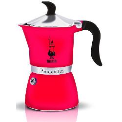 Macchina da caffè Bialetti - Fiammetta 3tz fluo fragola