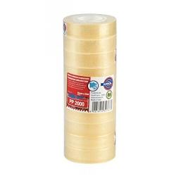 Nastro Eurocel - Pp 2000 nastro da imballaggio - 15 mm x 33 m - trasparente, miele 001092151