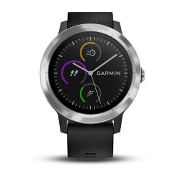 Smartwatch Garmin - Vívoactive 3 Black