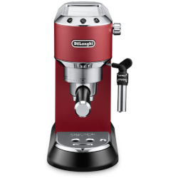 Macchina da caffè DEDICA EC 685.R Rosso Caffè macinato, Cialde ESE