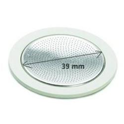 Image of 3 Guarnizioni+filtro 39 mm per caffettiera 1 tazza