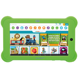 "Tablette tactile trevi KidTab 7 C16 - Tablette - Android 4.4 (KitKat) - 8 Go - 7"" TFT (1024 x 600) - Logement microSD"