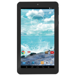 "Tablette tactile trevi Tab 7 C16 - Tablette - Android 4.4 (KitKat) - 4 Go - 7"" TFT (800 x 480) - Logement microSD - noir"