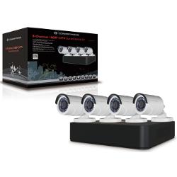 Image of Telecamera per videosorveglianza Dvr + videocamera/e c8cctvkitd10802tb
